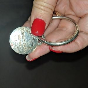 EUC Tiffany & Co keychain